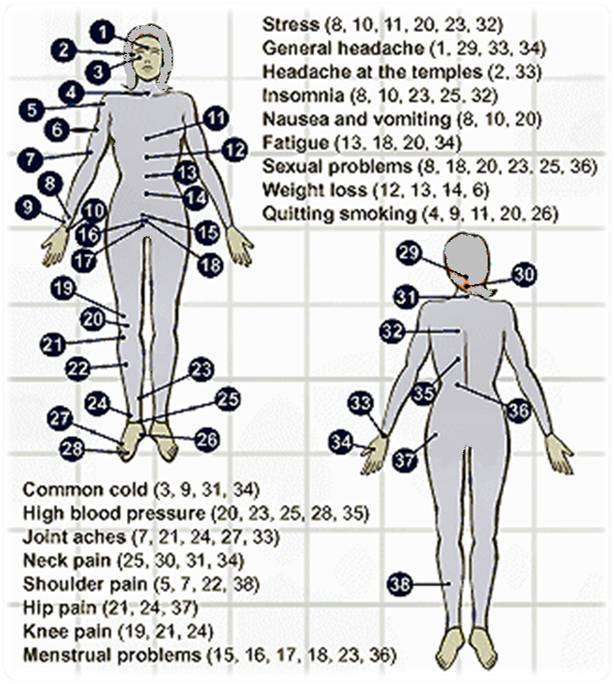 Acupressure healing healthy manners acupressure techniques pressing ccuart Images